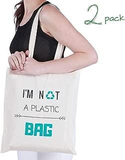 i m not plastic bag