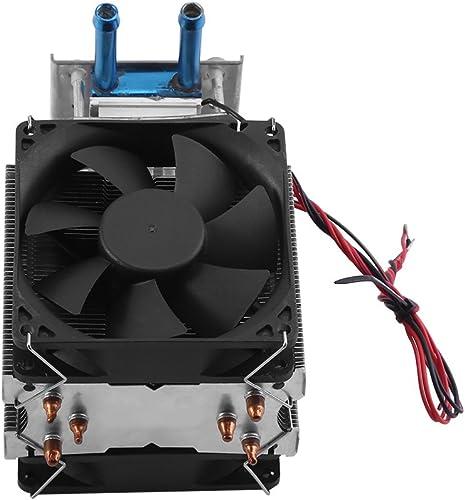 100W Refroidisseur Semi-Conducteur d'Eau Réfrigération Refroidissement Thermostatique Electronic Chillers pour Aquari...