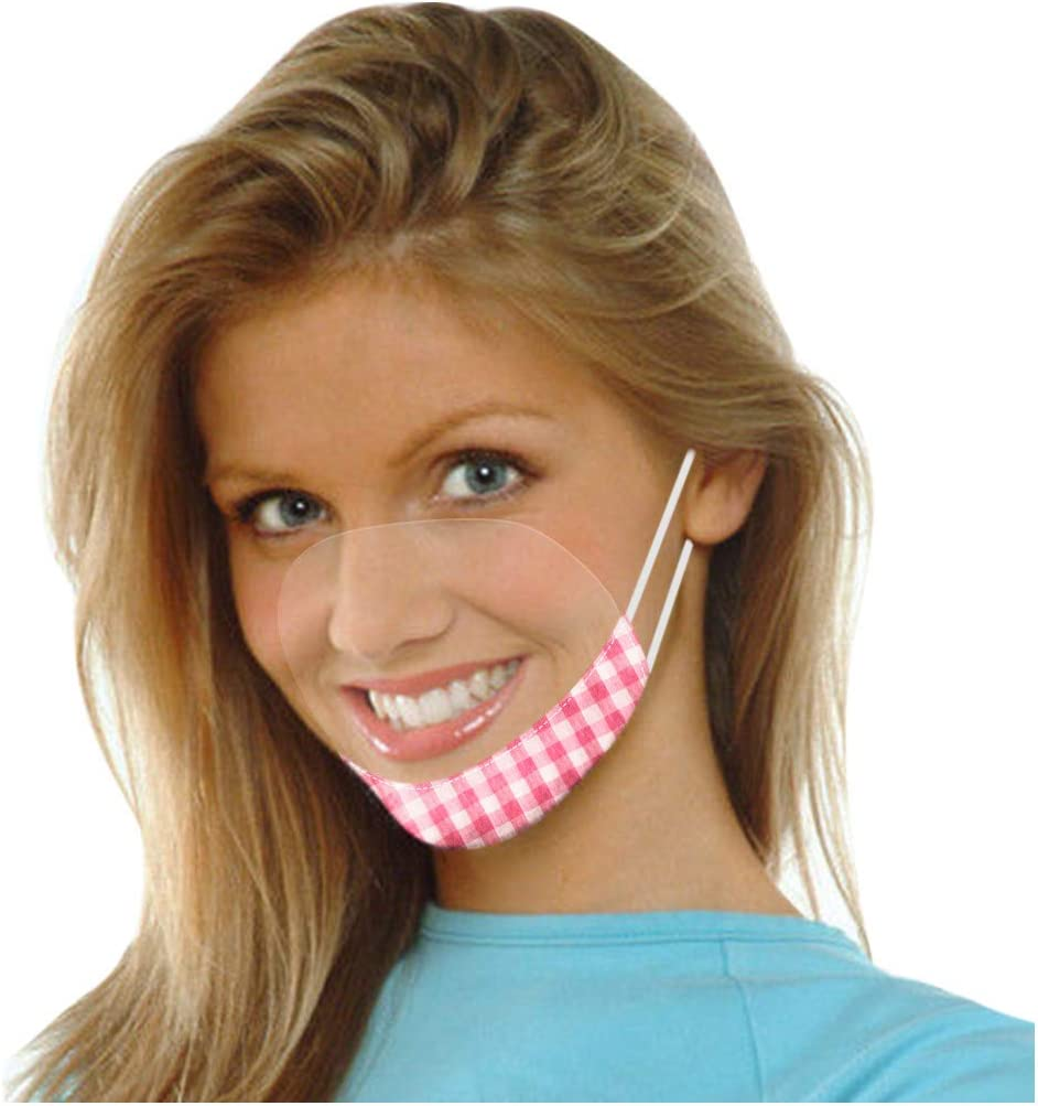 7 Pack Lips Mail order cheap Clear Men Adult Cotton Fa Face_Mask_Protection_Cover Philadelphia Mall