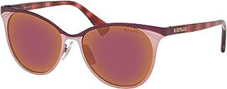 Ralph by Ralph Lauren Women's Ra4128 Metal Butterfly Sunglasses