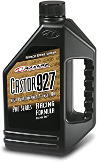 Maxima (23964) Castor 927 2-Stroke Premix Racing Oil - 64 oz.