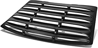 Rear Window ABS Vent Louver Style Windshield Sun Shade Cover for Ford Mustang Coupe 94-04