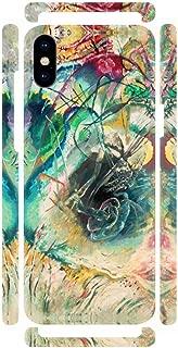 DìMò ART Cover Case Mobile Apple Modello iPhone Xs MAX Kandinsky Wassily Improvisation sans titre