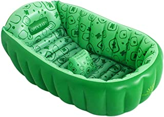 HEROTIGH Piscinas Hinchables Infantil Interior Hogar Recien Nacido Bebe Inflable Engrosamiento Nino Antideslizante Verde Inflatable Pool