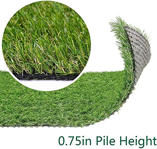Artificial Grass Turf Lawn - 13FTX67FT(871 Square FT) Indoor Outdoor Garden Lawn Landscape Synthetic Grass Mat