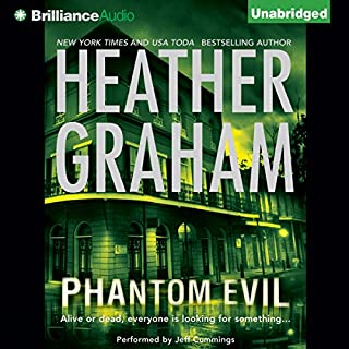Phantom Evil                   By:                                                                                                                                 Heather Graham                               Narrated by:                                                                                                                                 Jeffrey Cummings                      Length: 10 hrs and 7 mins     1,025 ratings     Overall 4.1