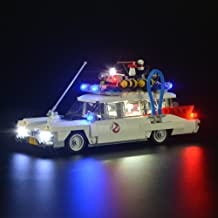 LIGHTAILING Conjunto de Luces (Ghostbusters Ecto-1) Modelo de Construcción de Bloques - Kit de luz LED Compatible con Lego 21108 (NO Incluido en el Modelo)
