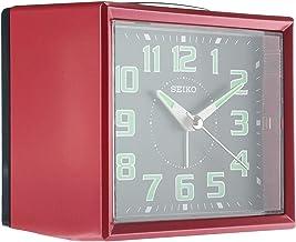 Seiko Desk Clock, Analog, Red - QHK024RL