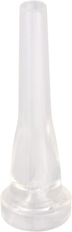 Yibuy Embouchure de trompette 3C pour trompette Couleur transparente