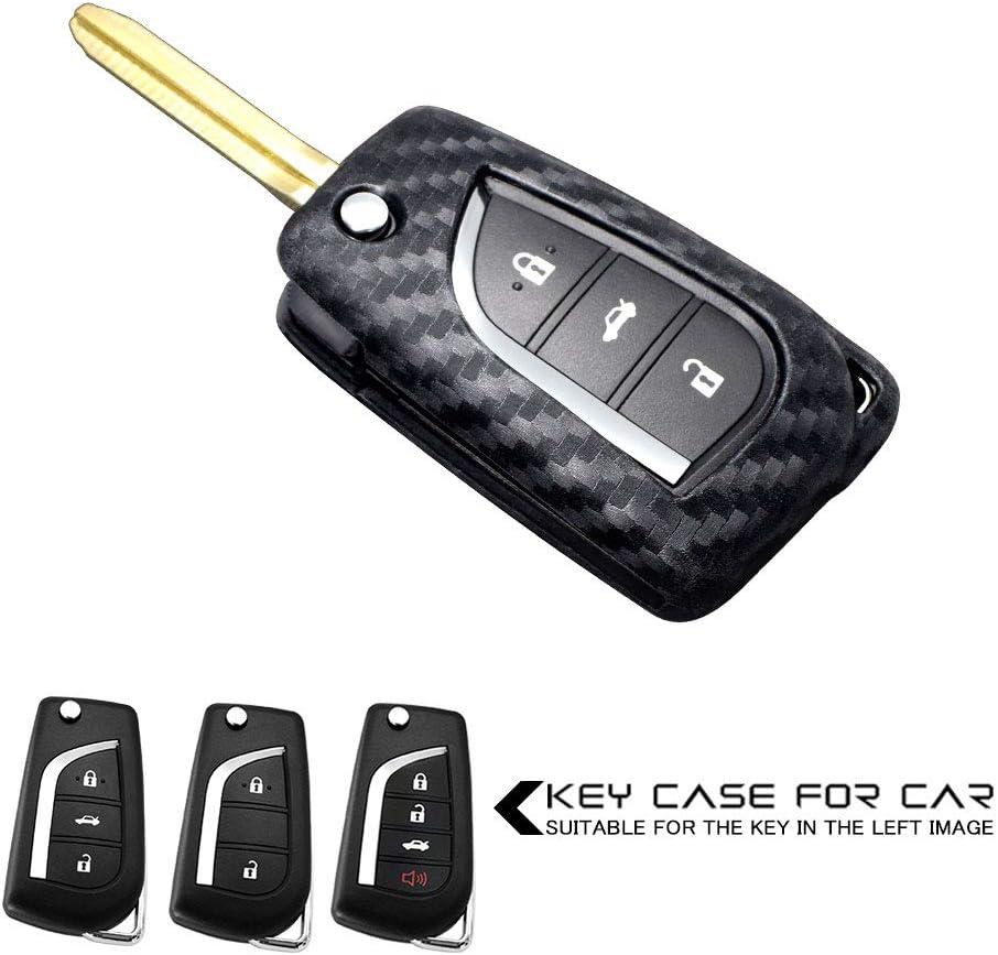 Ceyes Car Key Japan's largest assortment Fob Cover Remote Sales Carbon Smart