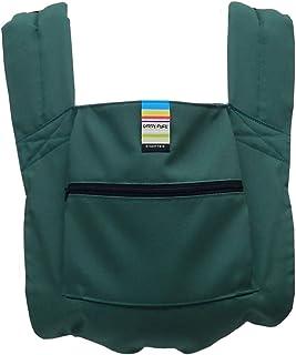 日本EIGHTEX 可折疊 便攜式折疊提籃 背嬰幼兒用 輕量便攜式便攜式抱嬰 01-108 [対象] 4ヶ月 ~ 36ヶ月 綠色