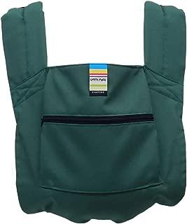 日本エイテックス キャリフリー ポケッタブルキャリー 抱っことおんぶで使える 軽量ポケッタブル抱っこひも グリーン 01-108