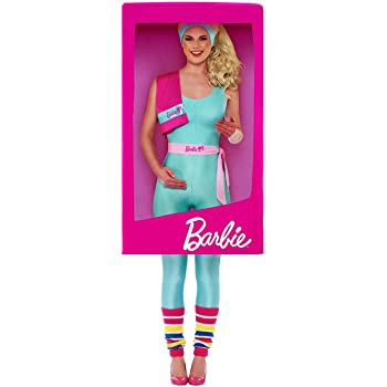 Smiffys Officially Licensed Barbie 3D Box Costume Disfraz oficial ...