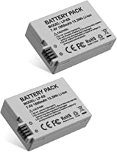 Replacement Canon LP-E8 Battery Pack for Canon EOS Rebel T3i, T2i, T4i, T5i, EOS 600D, 550D, 650D, 700D, Kiss X5, X4, Kiss...