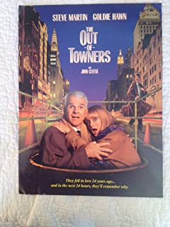 Out of Towners movie premiere program, Goldie Hawn, Steve Martin