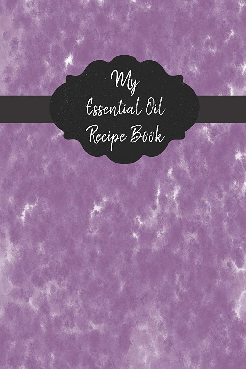統計的囲む不公平My Essential Oil Recipe Book: Record Your Favorite Aromatherapy Blends | Purple Watercolor