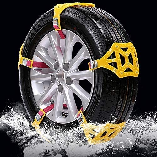 MACHSWON Anti-Skid Snow Chains for New arrival to Mount Easy All stores are sold Portable Tyres