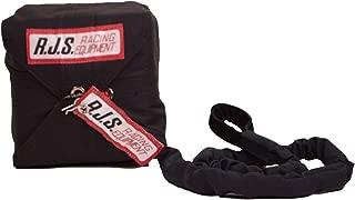 RJS Racing Equipment Men's Sportsman Chute with Nylon Bag and Pilot (Black, Free Size)