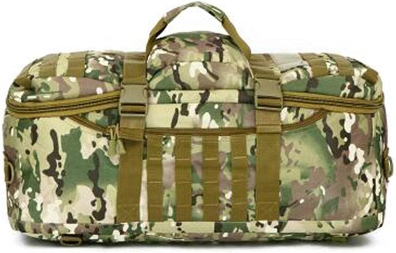 Sac à Dos portatif extérieur, Sac à Dos Militaire de Camouflage de Fan Militaire - 60L