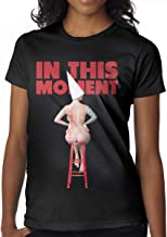 Avis N Women's in This Moment Maria Brink Whore T Shirts Black