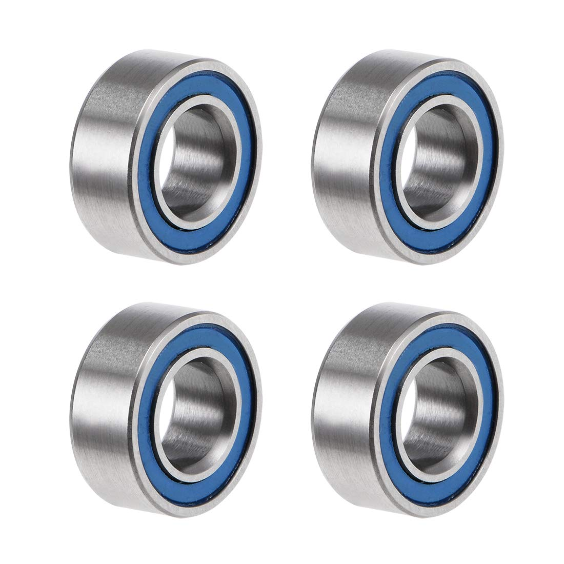 uxcell MR105-2RS Deep Easy-to-use Groove Ball Bearings Dia 10mm OD Inner Today's only 5mm