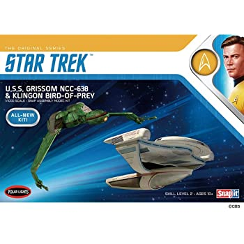 Star Trek Enterprise NCC-1701 Refit SnapIt 1:1000 Model Kit Polar Lights POL974