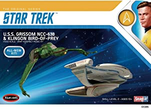 1/1000 Star Trek U.S.S. Grissom and Klingon Bird Of Prey Plastic Model Kit