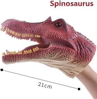 Dabixx 恐竜の手の人形, 恐竜アニマルソフトハンドパペットゴム現実的なジュラ紀恐竜のおもちゃサメ人形の男の子のおもちゃ - 7#