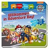 Paw Patrol - Willkommen in Adventure Bay!: Puzzlekettenbuch mit 5 Puzzles mit je 6 Teilen -
