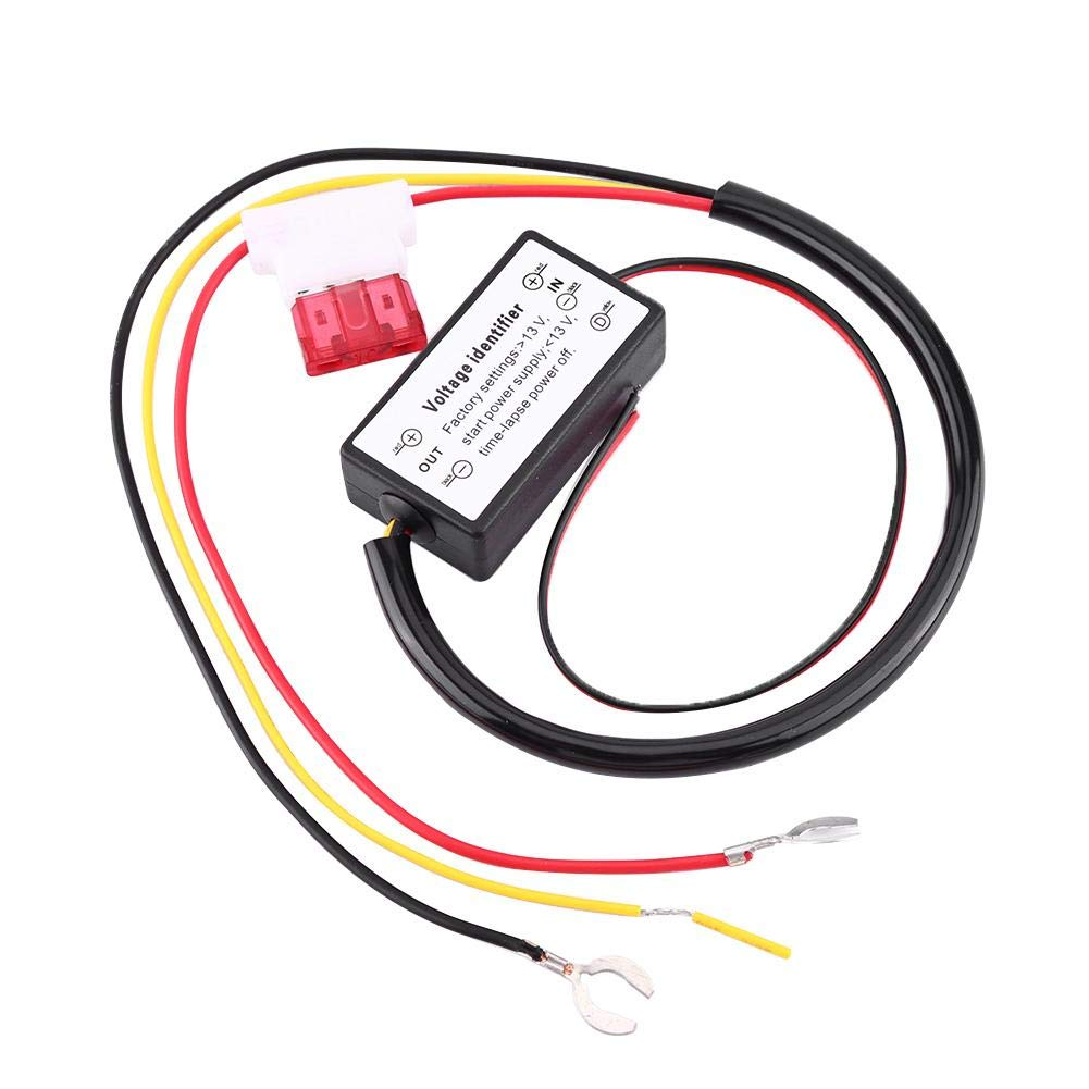 GOTOTOP Car LED Controller Daytime Running Light Lamp DRL Controller 12-18V Relay Harness DimmerAuto On//Off Switch Fog Light Controller for Auto Car Accessories