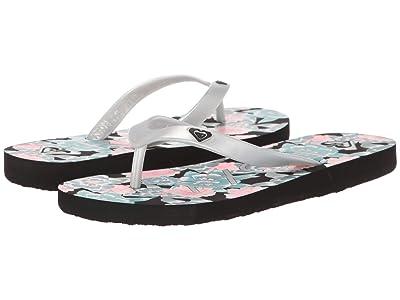 Roxy Kids Tahiti VI (Little Kid/Big Kid) (Blue Coral) Girls Shoes