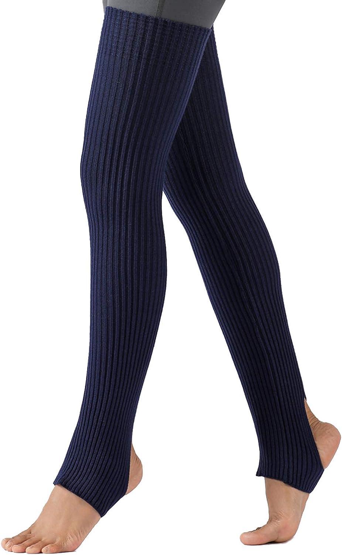 Lavento Leg Warmers Thigh High Yoga, Pilates, Ballet, Casual Stirrup Legwarmers
