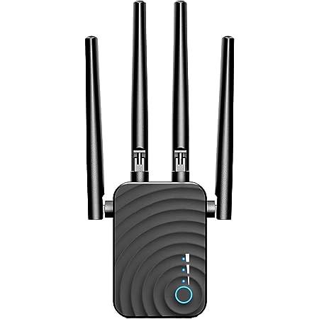 Repetidor WiFi 1200Mbps Amplificador Señal WiFi Banda Dual ...