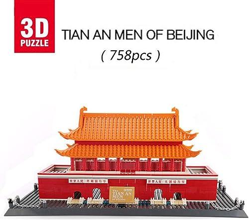 compras en linea Asdfgh Tian An Men of of of Beijing,3D Puzzle Puzzles 3D Edificio 3D Model Puzzle,Regalos Y Souvenirs para Adultos Y Niños,Juguetes Educativos Que Pueden Interactuar con Niños  calidad oficial