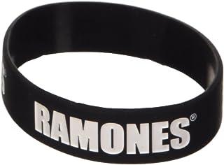 Ramones Braccialetto Logo Official (Nero)