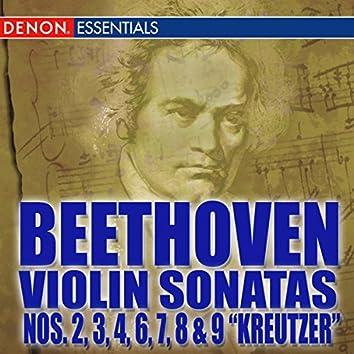 Beethoven Violin Sonatas Nos. 2-3-4-6-7-8-9