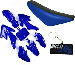 Forspero Fibre de Carbone Corps en Plastique de Travail car/énage kit pour Honda XR50 CRF 50 125cc Pit Bike