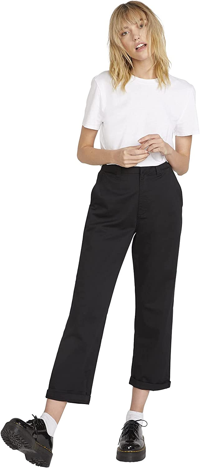 Volcom Charlotte Mall Women's Frochickie specialty shop Boyfriend Pant Fit Chino