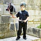 Ritter mit Steckenpferd Kostüm-Set für Kinder - Einheitsgröße