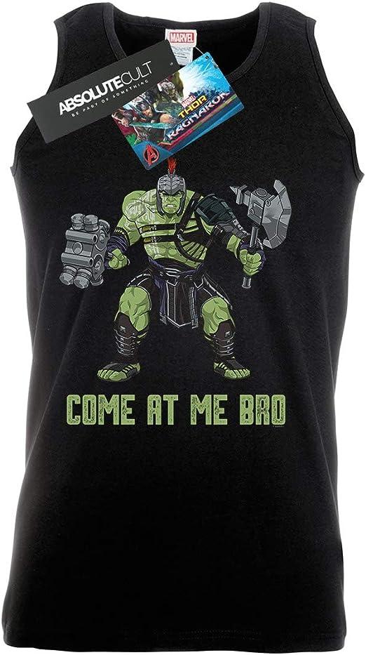 Marvel Hombre Thor Ragnarok Come At Me Bro Camiseta Sin ...