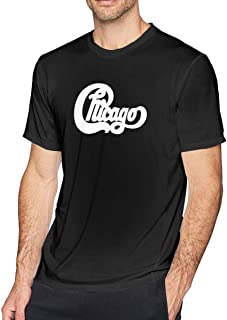 Chicago Band Mens T-Shirt Black