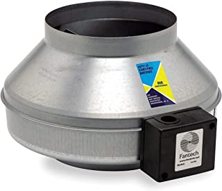 Inline Centrifugal Duct Fan, Ball, 8 In. L