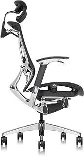 Aboval ABchair PRO オフィスチェア デスクチェア 【プロ】人間工学椅子 座り姿勢自動適応 ダブルブレーキ力機構台座の機械動き構造システム 腰痛を避けることができます 疲れない椅子 優れた通気性 メッシュチェア AB-BK01-...
