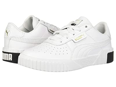 Puma Kids Cali (Little Kid) (Puma White/Puma Black) Girl
