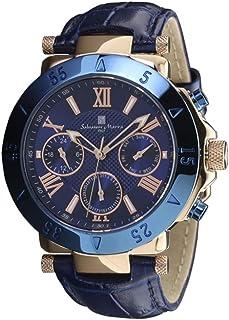 [サルバトーレマーラ] SALVATORE MARRA 腕時計 SM14118S-PGBL ブルー メンズ