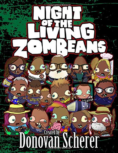 Night of the Living ZomBeans: A Coloring Book of Zombie Beans