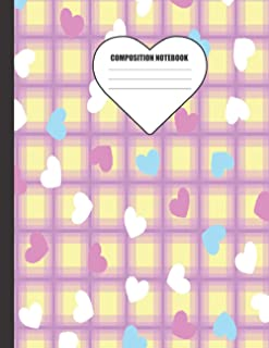 Composition Notebook: Cute Notebook to Write in For Girls – Perfect for Recording Notes, Poem Writing and Doodling – Great...