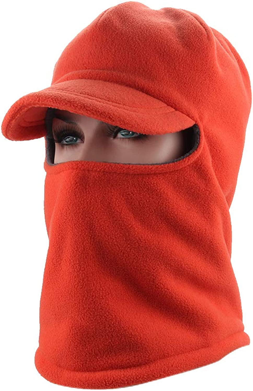 Balaclava Hooded Face Mask,Winter Windproof Fleece Ski Set Head Cap Neck Warmer Outdoor Cycling Skating Riding