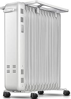 Zzq- Radiador De Aceite De 13 Elementos, 2200W Watios, Dispone De 2 Ajustes De Potencia Y Control Termostático De Temperatura