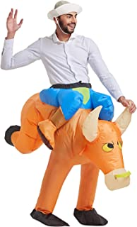Inflatable Costume | Halloween Animal Cosplay Costumes for Adult | Blow Up Costume,One Size Fits Most